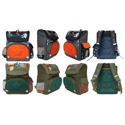 Рюкзак школьный MANUSCRIPT, жесткая рельефная спинка, ассорти 2 дизайна...